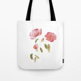 Rose Flower Tote Bag