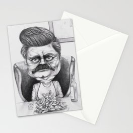 Ron's Bacon and Eggs Stationery Cards