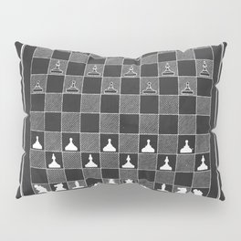Chess Vintage Patent Pillow Sham