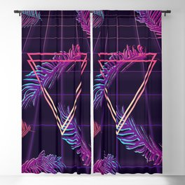 80's Retro Cyberpunk Synthwaves Dominating the Future Blackout Curtain