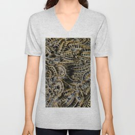 Tree Killing Caterpillars Unisex V-Neck