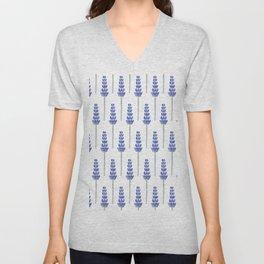 Lavender Fields Unisex V-Neck