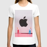 mac T-shirts featuring Hungry Mac by Encolhi as Pessoas