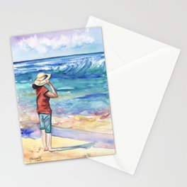 Another Nice Day at the Beach Stationery Cards