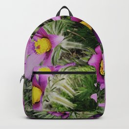 pasque-flower Backpack