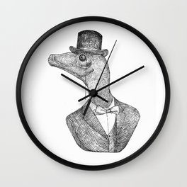 Veloci the raptor Wall Clock