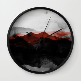 nature montains Wall Clock