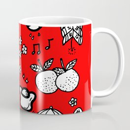 2018 Chinese New Year Doodles Coffee Mug