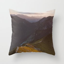 Before sunset - Landscape and Nature Photography Throw Pillow