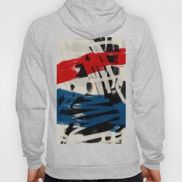 French Expressionist Abstract Art Hoody