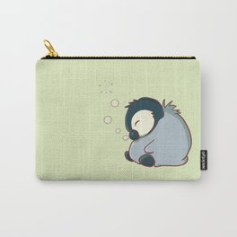 Sleepy baby penguin Carry-All Pouch