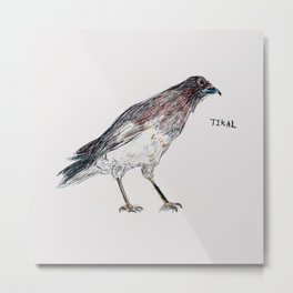 Tikal Bird Metal Print