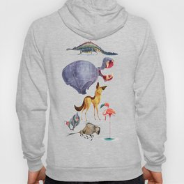 African animals 3 Hoody