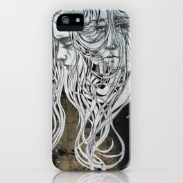 of the sea, on the past & letting go iPhone Case