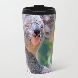 Winking Koala Travel Mug