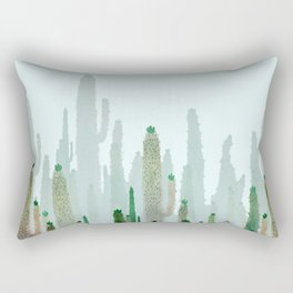 horizont cactus Rectangular Pillow