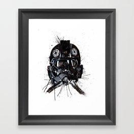 Tie Framed Art Print