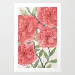 flowersitas Art Print