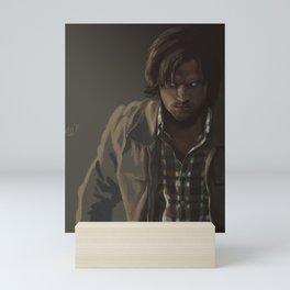 Ezekiel. Sam Winchester Mini Art Print
