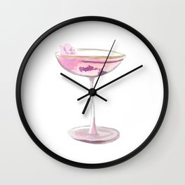 Cocktail no 9 Wall Clock