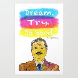 Boy Meets World - Dream. Try. Do good. Art Print