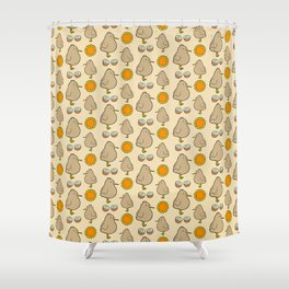 Little Kiwi Shower Curtain