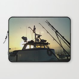 Fishing At Dawn Laptop Sleeve