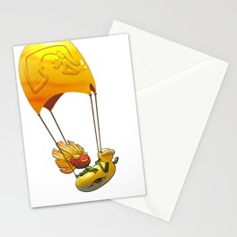 Golden Parachute Stationery Cards