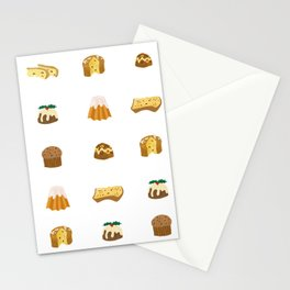 Christmas Cakes Stationery Cards