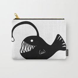 Anglerfish Illustration Carry-All Pouch