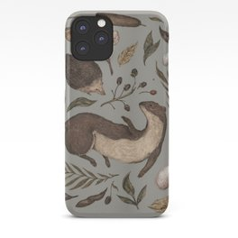 Weasel and Hedgehog iPhone Case