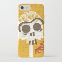 toilet iPhone & iPod Cases featuring Toilet Brush by YONIL