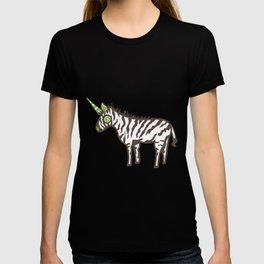 Cute Zebra Unicorn  T-shirt