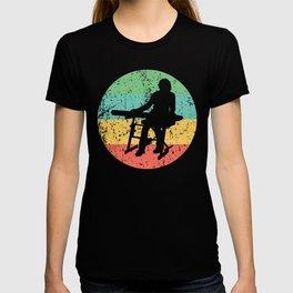 Keyboard Vintage Retro Music T-shirt