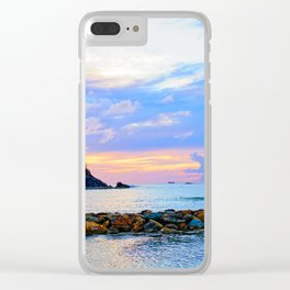 An Evening Glow Clear iPhone Case