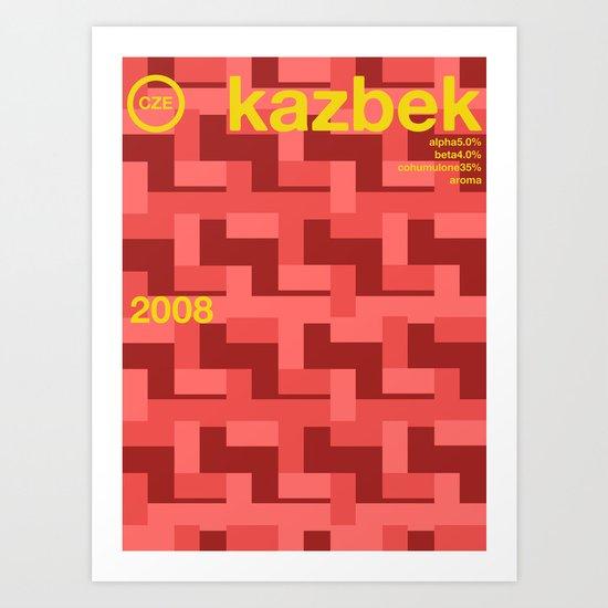 kazbek single hop Art Print