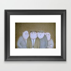 Unfinished Business  Framed Art Print