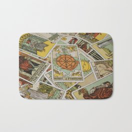 Tarot Cards Bath Mat