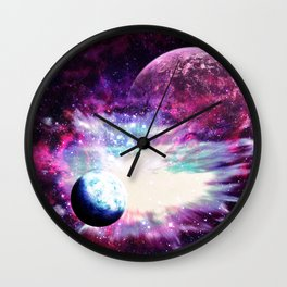 Celestial Existence Wall Clock