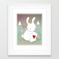 little prince Framed Art Prints featuring Little prince by Andarosa