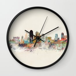 kansas city missouri Wall Clock