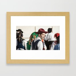 after the show Framed Art Print