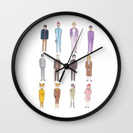 Wes Anderson movie characters Wall Clock