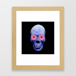 Day Of The Dead 1 by Sharon Cummings Framed Art Print