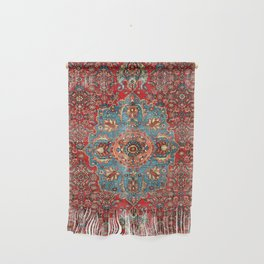 Bidjar Antique Kurdish Northwest Persian Rug Print Wall Hanging