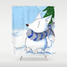 Snowpack Shower Curtain
