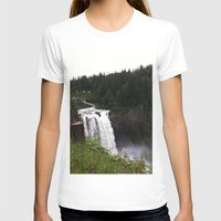 waterfall T-shirts featuring Waterfall by Sexyshrimp