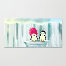Cotton Candy Hairs Canvas Print