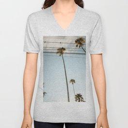 Palm Tre Sky Unisex V-Neck