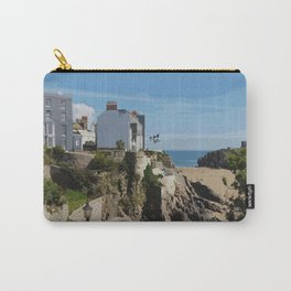 Wales Tenby Beach  Carry-All Pouch